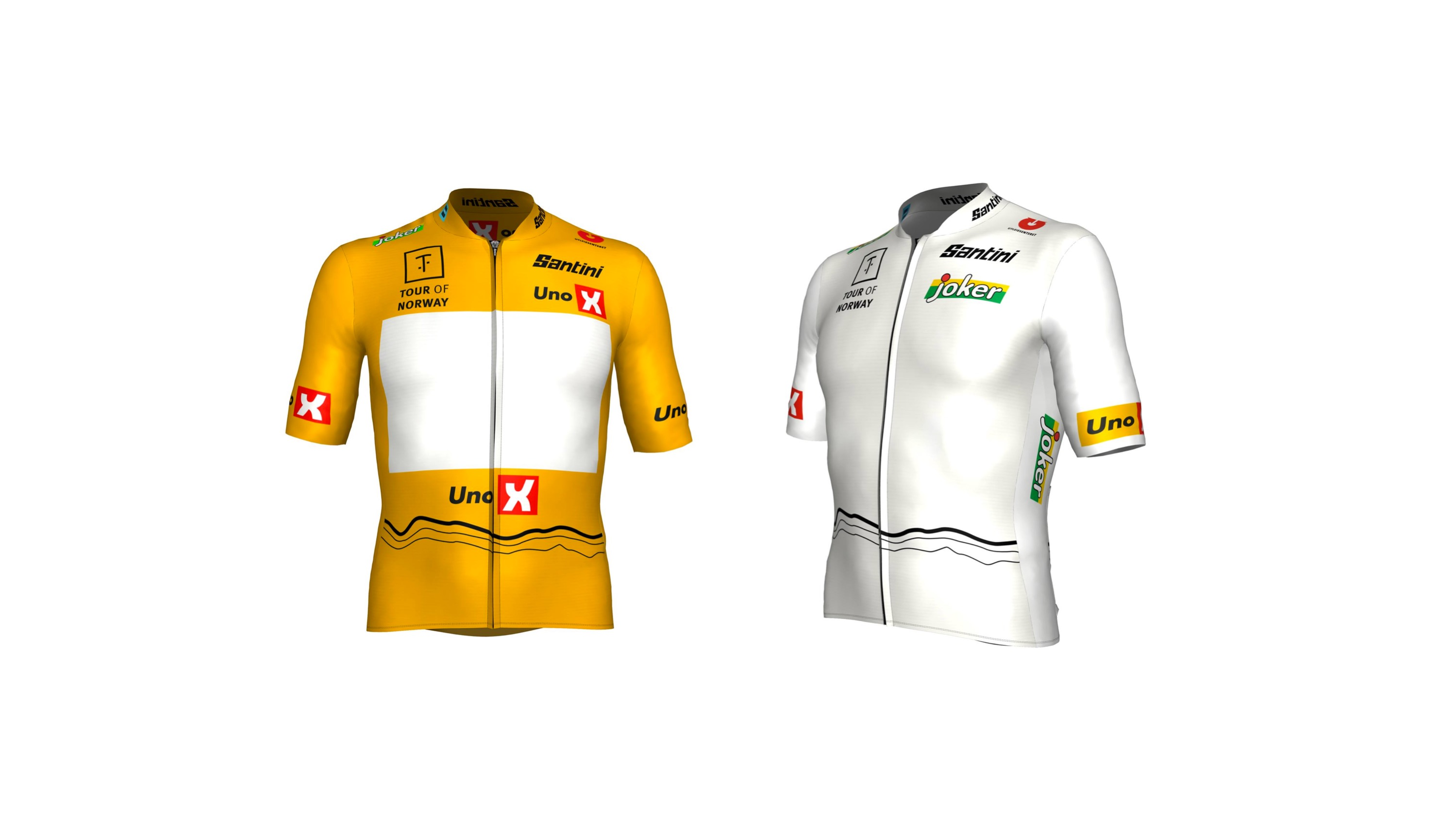 Discover Tour of Norway's jerseys by Santini!